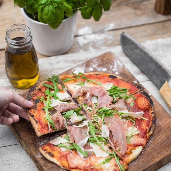 Original italienischer Pizzateig - Das Grundrezept