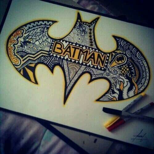 Batman doodles - this is awesome