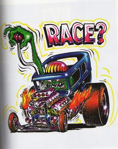 "Ed ""Big Daddy"" Roth - Race?"