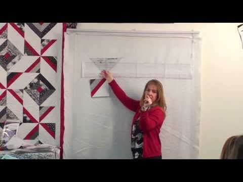 Cross Breeze- Strip Presentation by Cozy Quilt Designs - YouTube