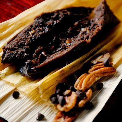 A Mexican Holiday with Tamales de Chocolate y Nuez