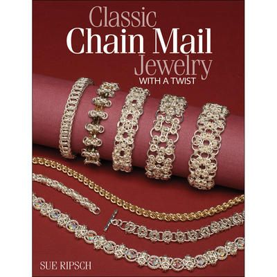 Create stunning chain mail jewelry that make lovely gifts for the holidays. Kalmbach Publishing-Classic Chain Mail Jewelry With A Twist