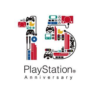 プレイステーション15周年のロゴマーク。 初代プレステが登場してから15年立つのですね。 さて、その