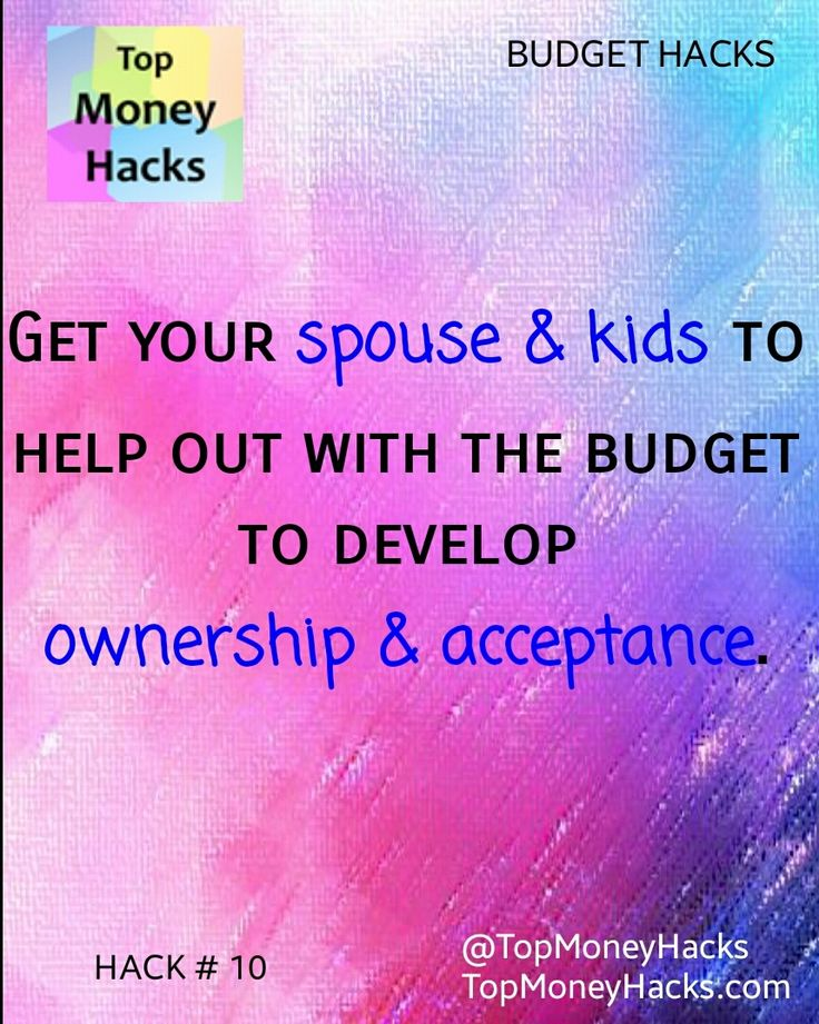 Involve your family in the household #budgeting process to keep them in the loop and to develop a sense of ownership, making it easier to accept lifestyle changes they may have to follow. #personalfinance #frugal #family #money ---- Read more: https://topmoneyhacks.com/2016/08/10/family-ownership-for-successful-budgeting-money-saving-hacks/