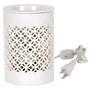 Home Scents Electric Wax Melt Warmer - White : Target