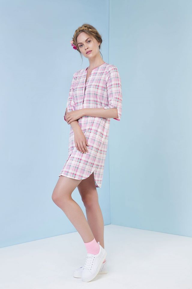 Need a reason to never get out of bed? You're looking at it with this plaid nightgown. ;) http://www.vampfashion.com/collections-mo-en/nightwear-mo-en.html #nightgown #ss17 #vamp