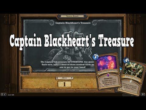 Captain Blackheart's Treasure - Tavern Brawl [Hearthstone] - YouTube
