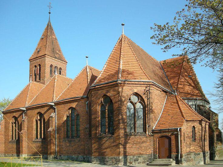 Wabrzezno church - Województwo kujawsko-pomorskie – Wikipedia, wolna encyklopedia