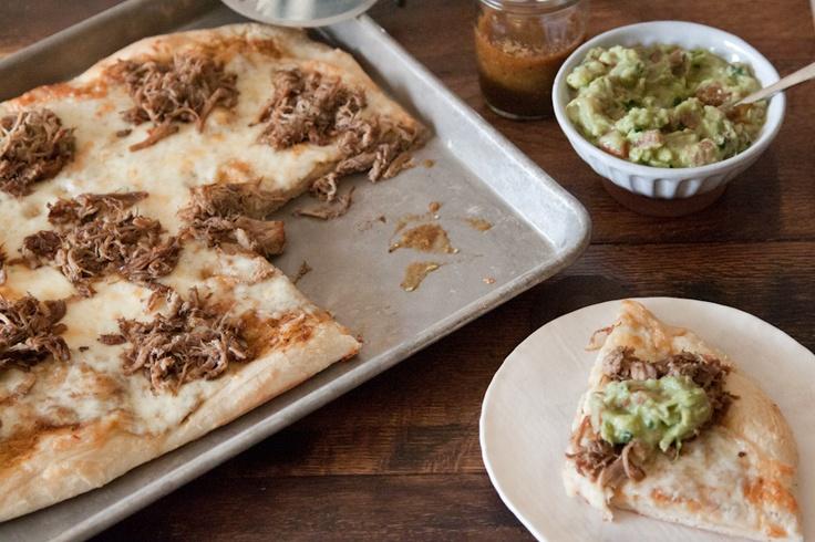 Carnitas and Chipotle Guacamole Pizza: Football Food, Carnitas Guacamole Pizza Jpg, Bowls Food, Bowls Recipes, Gabi Cooking, Eating, Food 3, Chipotle Guacamole, Carnitas Pizza Yummmi