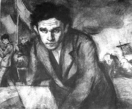 Self-portrait, by artist and writer Bruno Schulz
