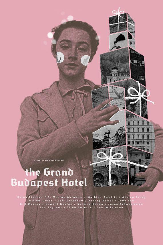 El cartel de la película alternativa de Grand Hotel Budapest
