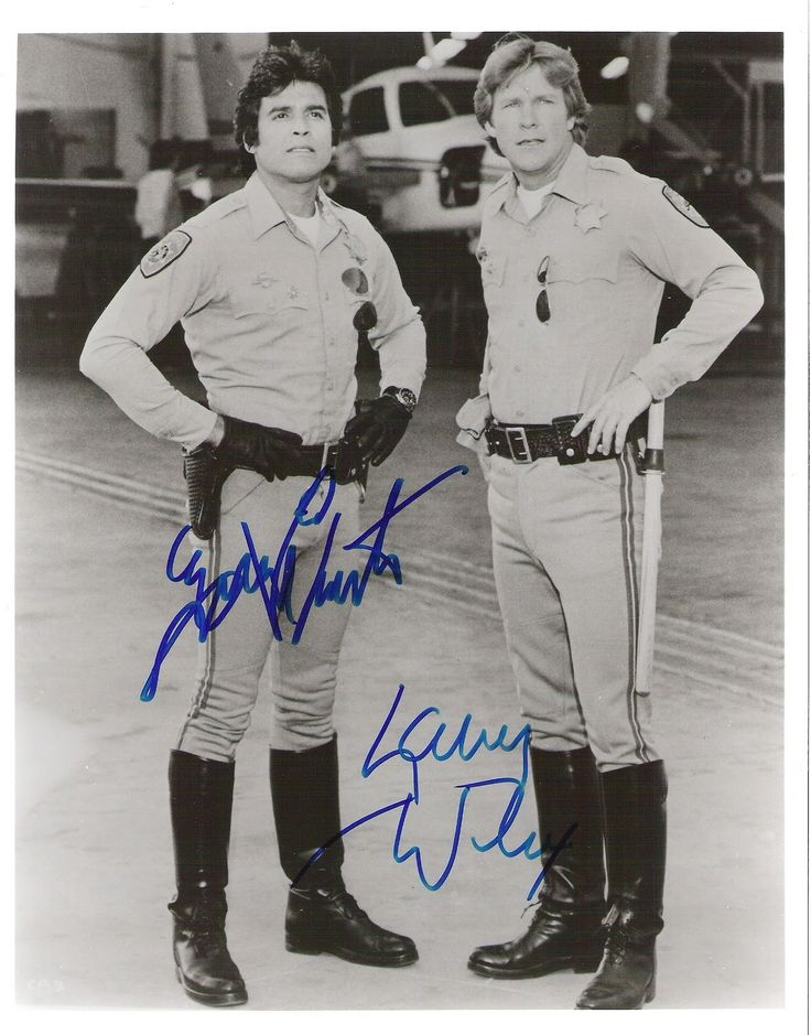 CHiPs - Erik Estrada and Larry Wilcox