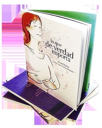 Neko Naku participated on the project Lo que de verdad importa, Elena Cibrián´s book, drawing illustrations.  See more on: