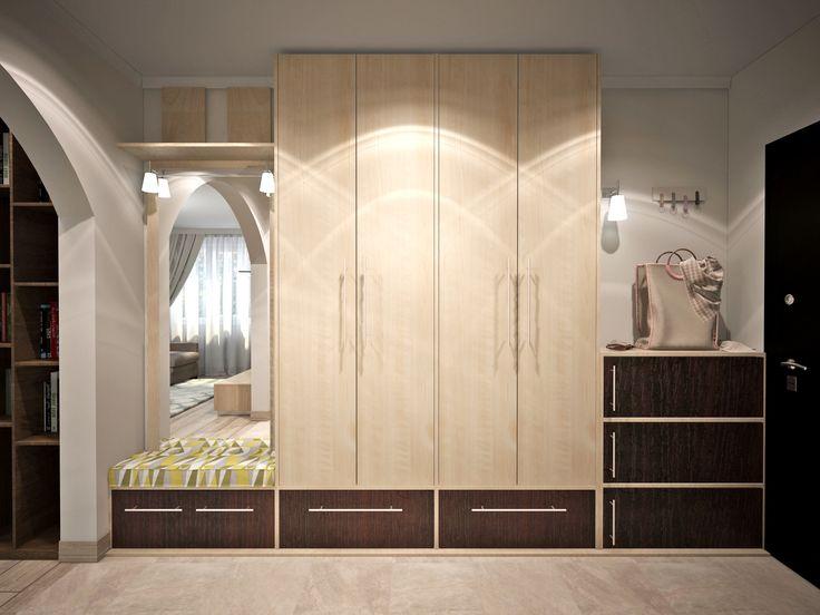 Дизайн интерьера мебели для корридора