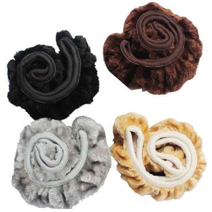Hot Sale Warm Plush Winter Car Steering Wheel Cover Imitation Wool Universal Auto Supplies Car Accessories