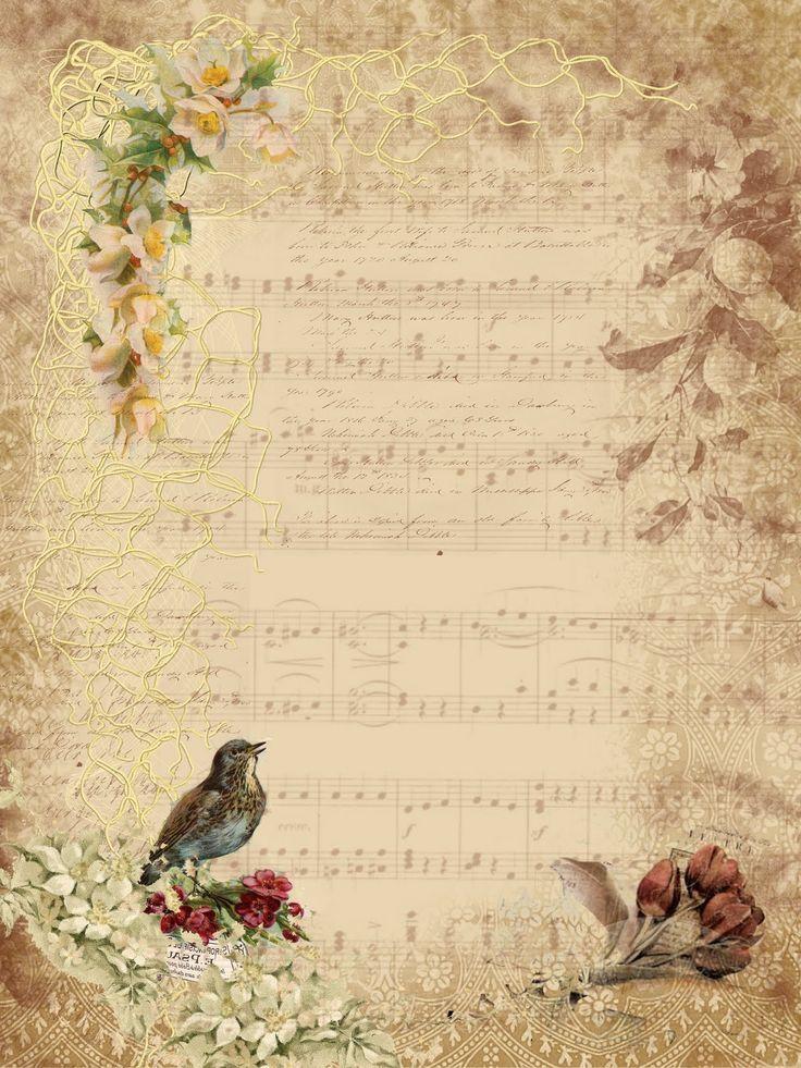 Шаблон винтажная открытка, открытки юбилеем