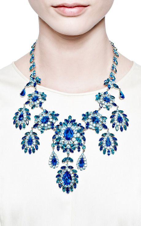 Vintage Austrian Statement Necklace by Carole Tanenbaum for Preorder on Moda Operandi