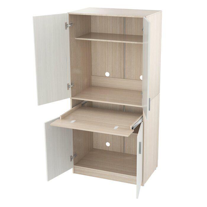 Bluxome Armoire Desk Meuble Bureau Armoire Bibliotheque Integre