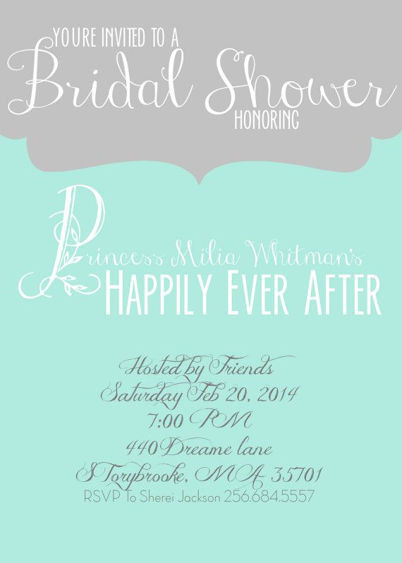 fairytale themed bridal shower invitation happily ever after shower invite princess bridal shower invitation fairytale shower invite party ideas