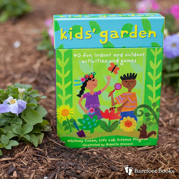 66 best kids in the garden images on pinterest barefoot for Indoor gardening lesson