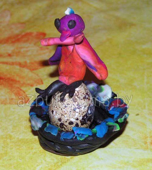 Развитие воображения ребенка (творчество) ТЕМА: Лепим гнездо для птиц | Азбука Ума - раннее развитие детей, игры с детьми, презентации для дошкольников