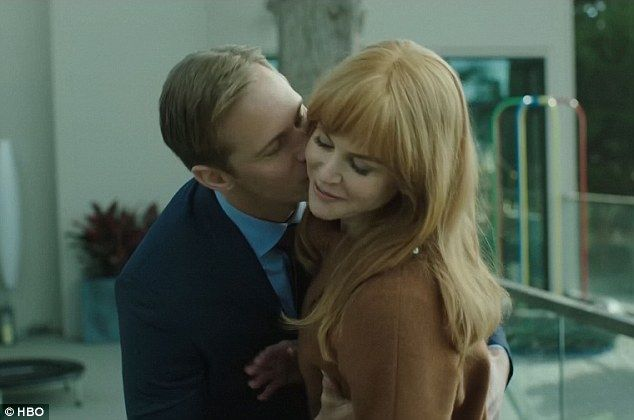 Close: While Nicole Kidman (Celeste) is the mother of twin boys and has a very PDA heavy marriage with hunk Alexander Skarsgard in the series Big Little Lies