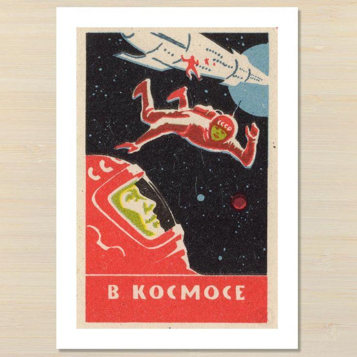 Space Men art print   Pencil and Hammer NZ – Pencil and Hammer art prints
