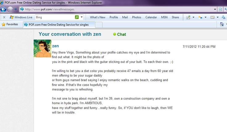 Funny opening emails online dating