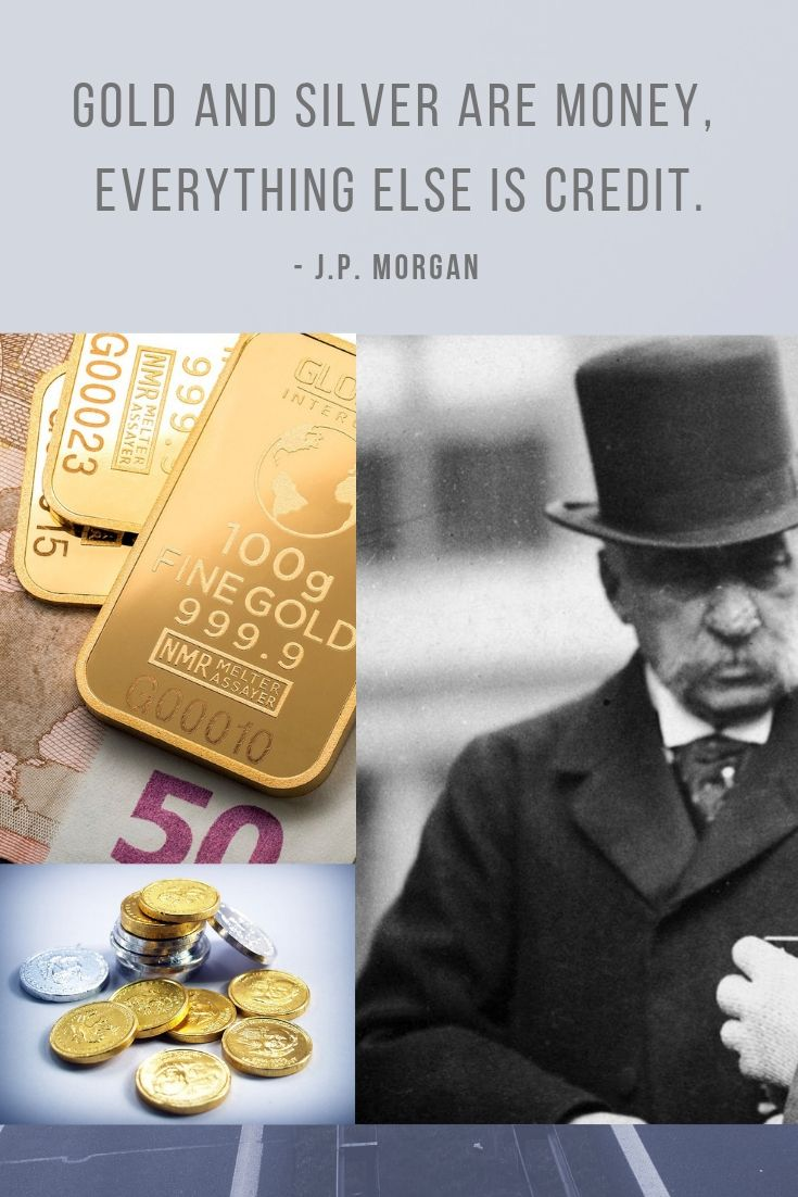 Gold Is Money Everything Else Is Credit : money, everything, credit, Invest, Gold?, Bullion, Bars,, Investments,, Everything