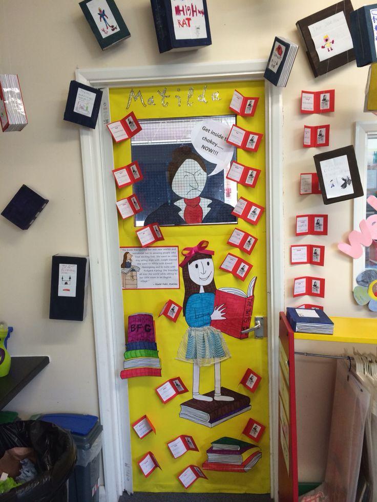 Classroom Ideas For World Book Day ~ Best roald dahl images on pinterest