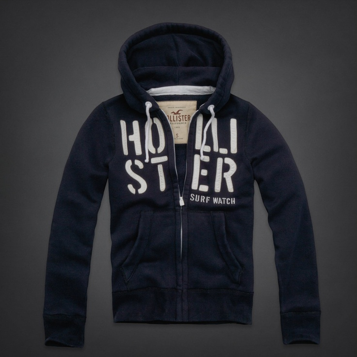 Hollister Dudes Moonlight Beach Hoodie