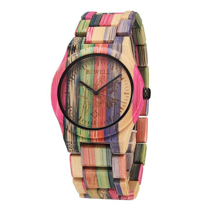 Women's Rainbow Style Wooden Watches (2 Types) //Price: $54.38 & FREE Shipping //     #hashtag1