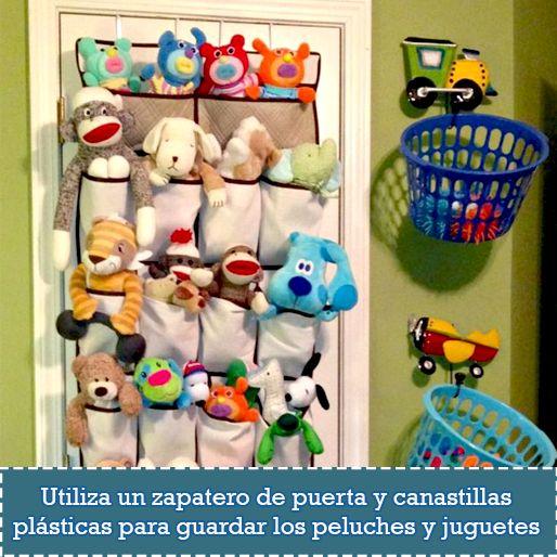 soluciones prcticas y econmicas para organizar los juguetes de los habitacin