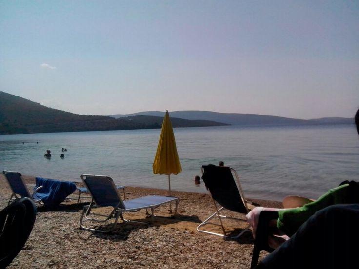 Marathias beach Greece