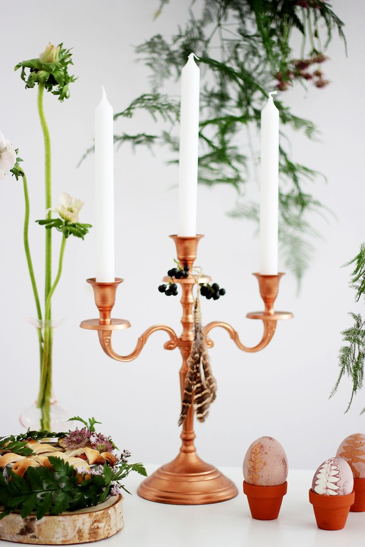 Botanical Easter styling tips from A Creative Mess + Bloesem Photography