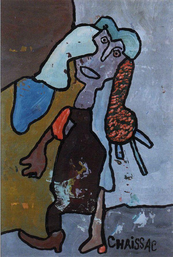 Gaston Chaissac : Sans titre (1963)