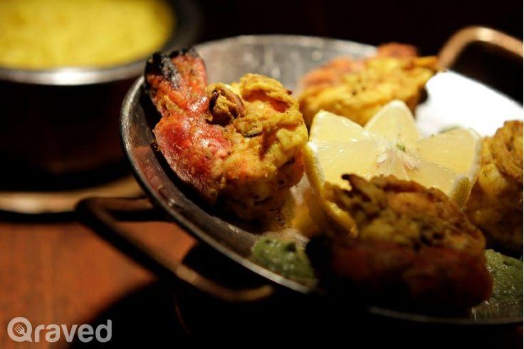 Tandoori Jheenga at Hazara Restaurant
