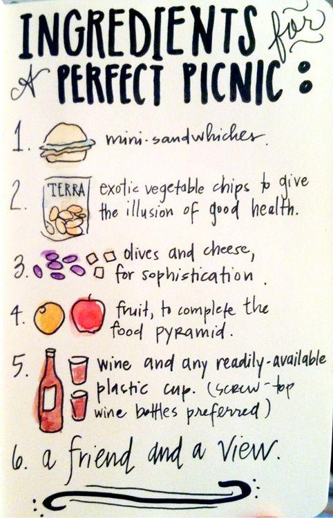 perfect picnic #Picnic                                                                                                                                                      More