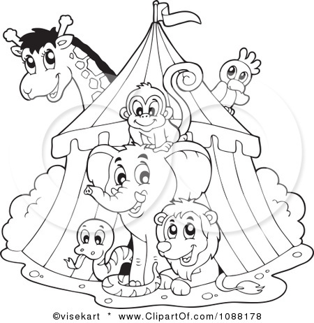 Preschool Carnival Theme Coloring Pages Coloring Pages