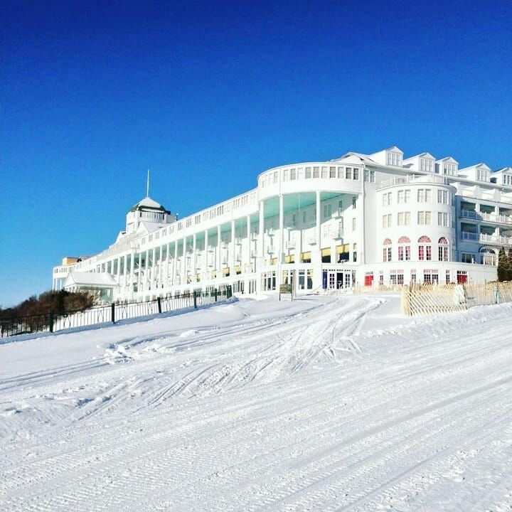 Putting You All In The Mood For Christmas From Grand Hotel Grand Hotel Mackinac Island Michigan Adventures Michigan Fun