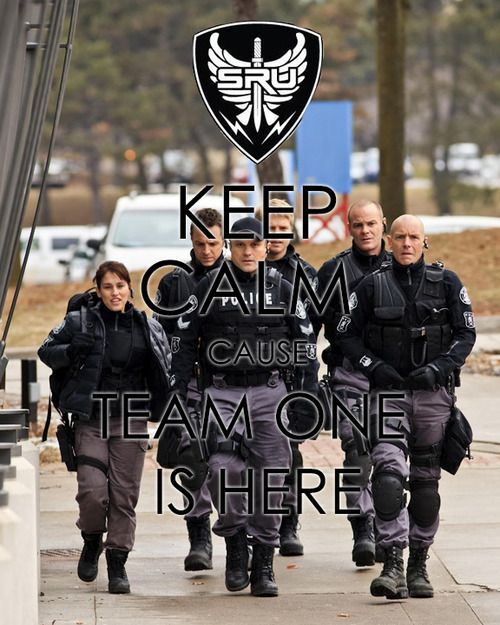 Each time I watch Flashpoint afterward I move like a ninja in my house and negociate with potential suspects. Love that show