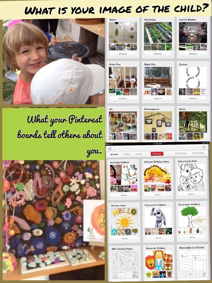 Something to consider when creating your Pinterest boards