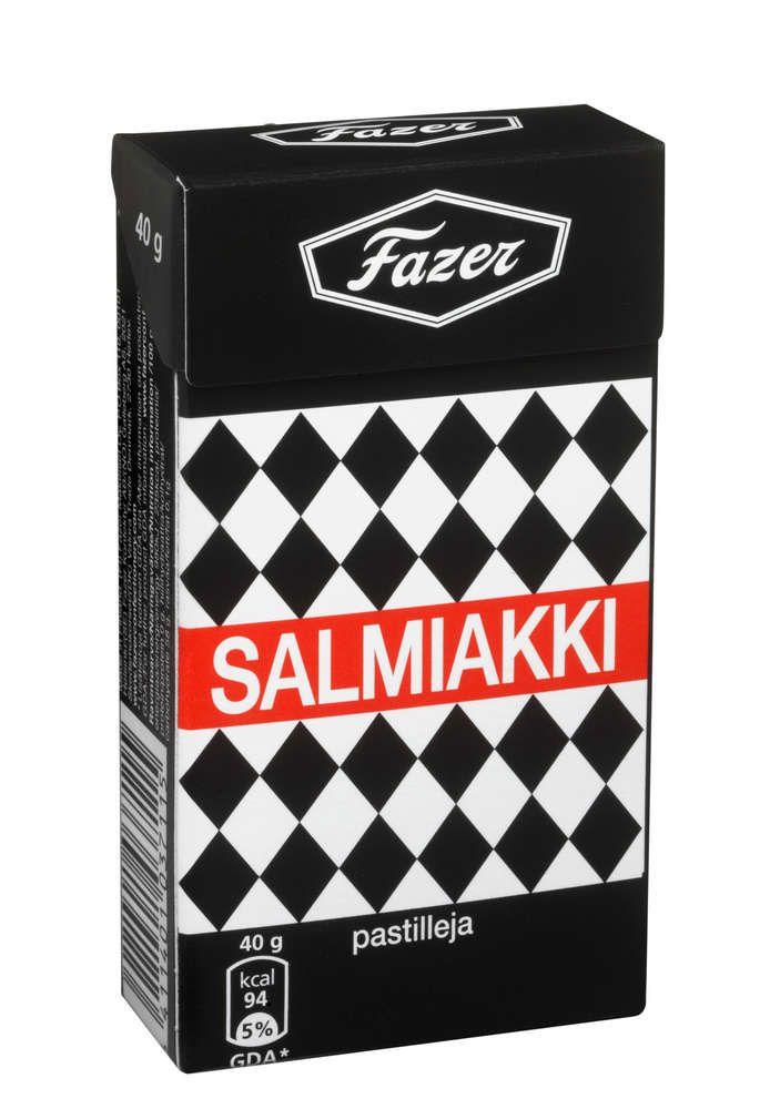 FAZER Salmiakki 40g