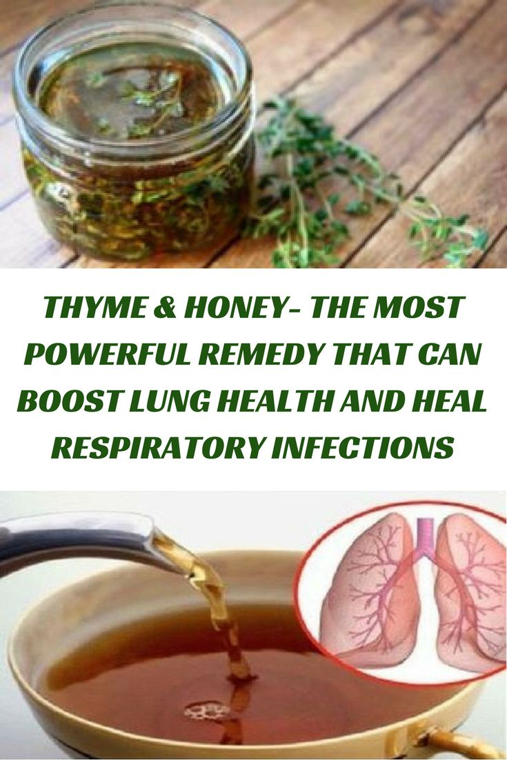 Honey has been shown to help fix sicknesses extending from an annoying cough to a grievous wound. Thymol gives thyme its unique flavor. It has powerful antimicr