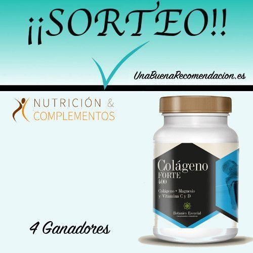 Sorteo 4 unidades Colágeno Forte Magnesio y Vitaminas C y C
