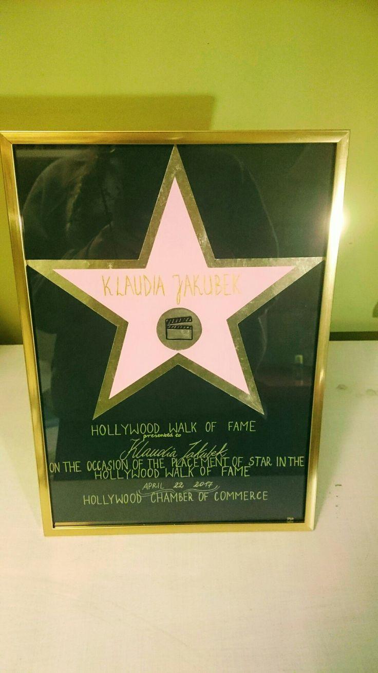 Gwiazda niczym z Hollywood 😁