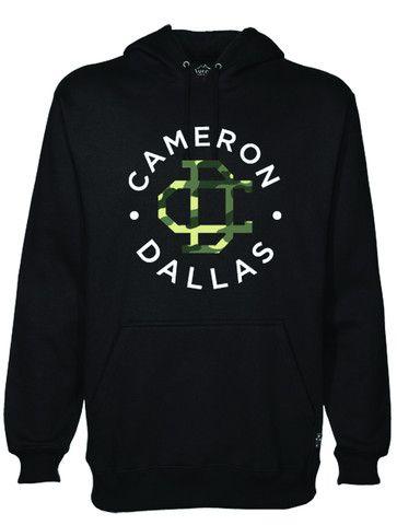 Cameron Dallas  Hoodie Black/Camo