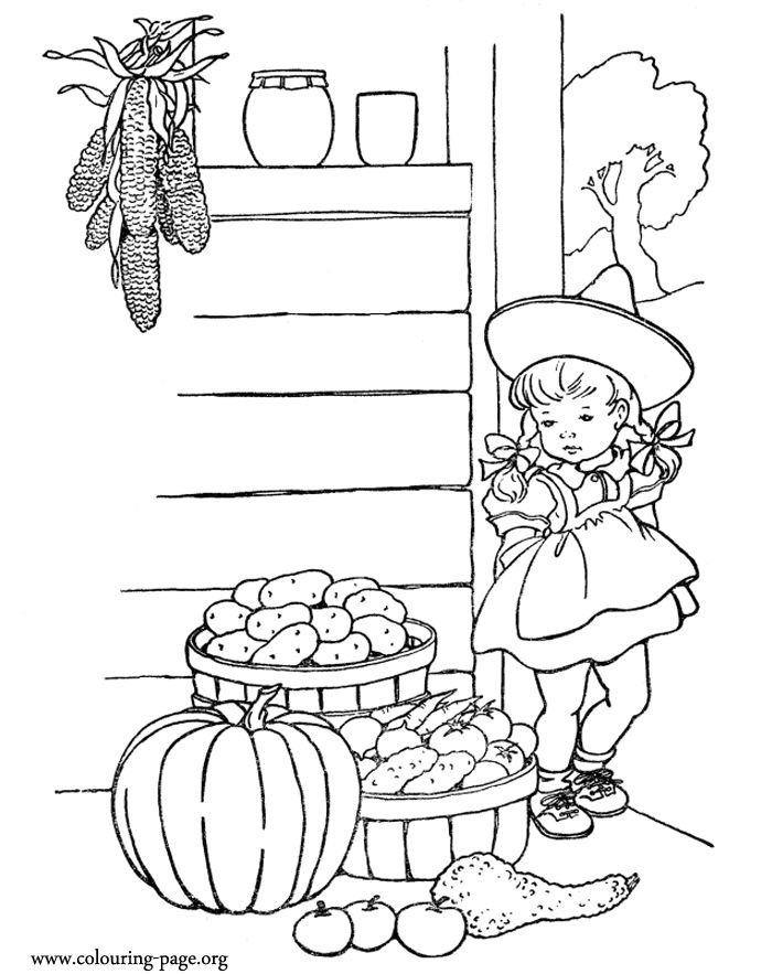 270 Best Autumn Coloring Pages Images On Pinterest