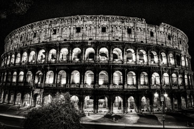 The Colosseum By John Cobb Via 500px Great B W Of The