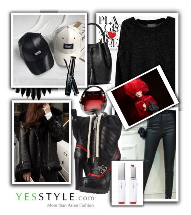 """Knitwear Fashion - YesStyle !"" by anin-kutak ❤ liked on Polyvore featuring Emini House, Dsquared2, Beauty, knitwear and yesstyle"